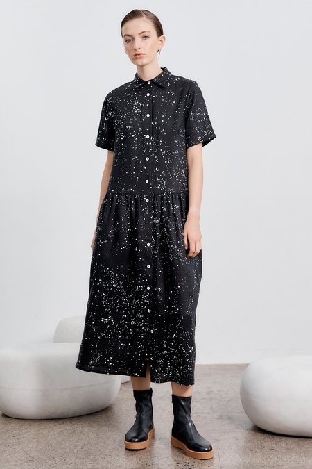 Milk & Thistle Studio Shirt Dress - Galaxy