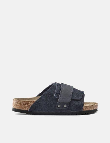 Birkenstock Kyoto Nubuck shoes - Navy Blue
