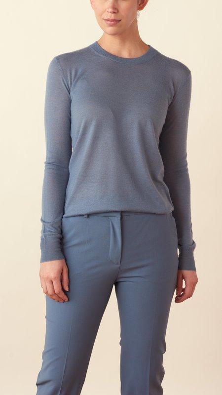 Joseph Cashair Crewneck Sweater - Blue Steel