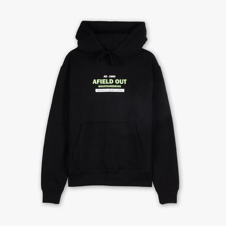 afield out MTN Works Pullover Hoodie - Black