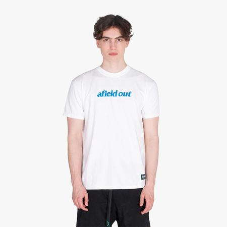 afield out Spine Tshirt - White