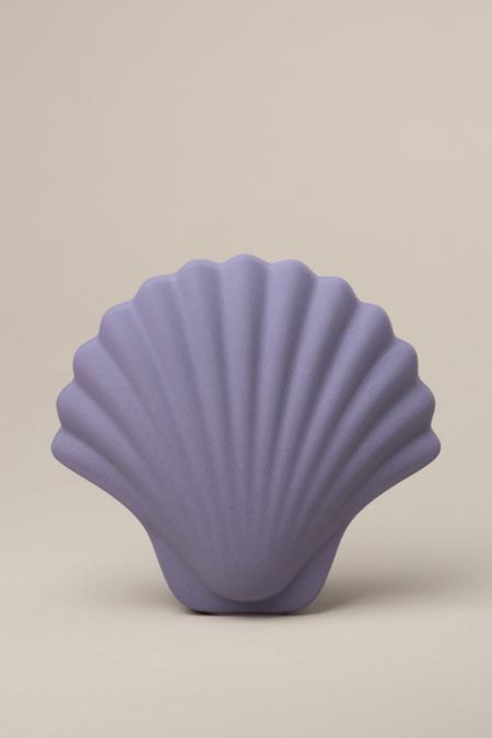 Los Objetos Decorativos Seashell Vase - Mauve
