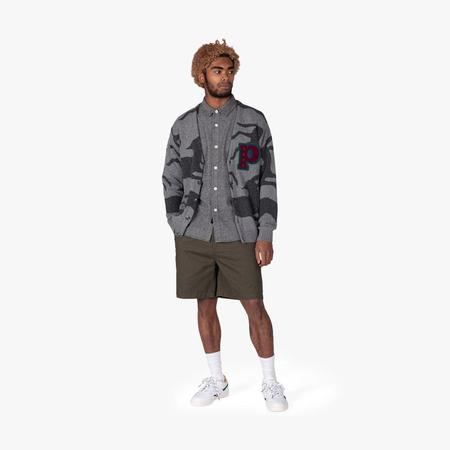by parra llc Jumping Foxes Cardigan - Grey