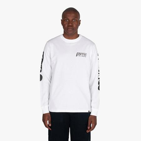 by Parra Parra Things Long Sleeve T-Shirt - white