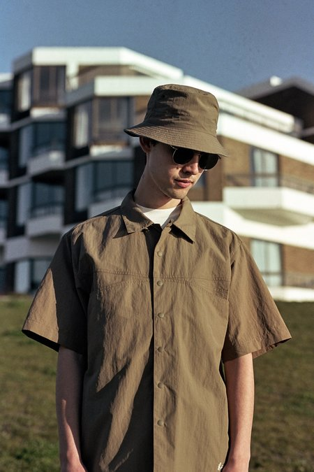 Gramicci Shell Camp Shirt - Tan