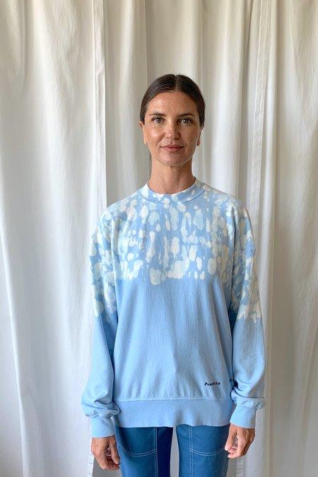 Proenza Schouler White Label Fluid Sweatshirt - Baby Blue