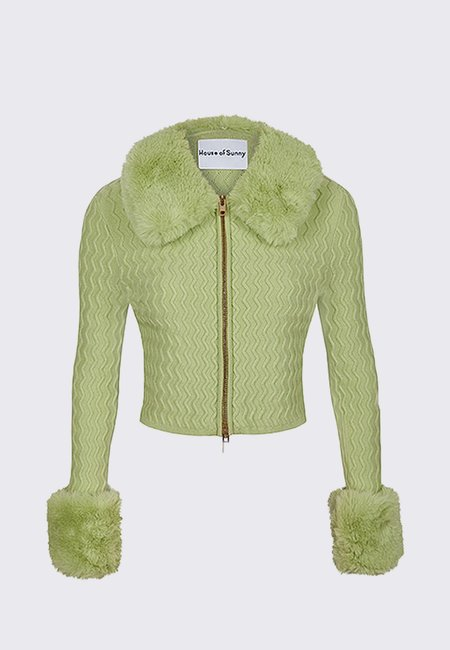 House of Sunny Island Peggy Cardigan - Sisi Grass