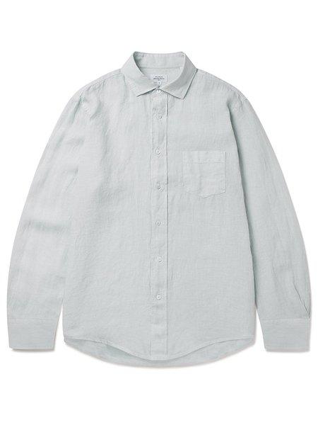 Hartford Paul Linen Shirt - Cloud