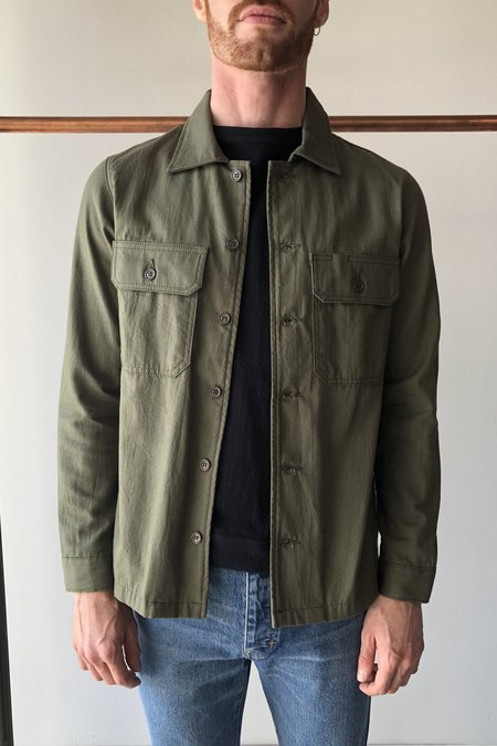 Naked & Famous Oxford Work Shirt