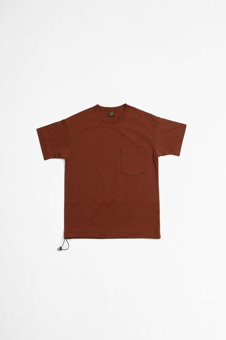A Vontade Silket Athletic T-shirt - Brick