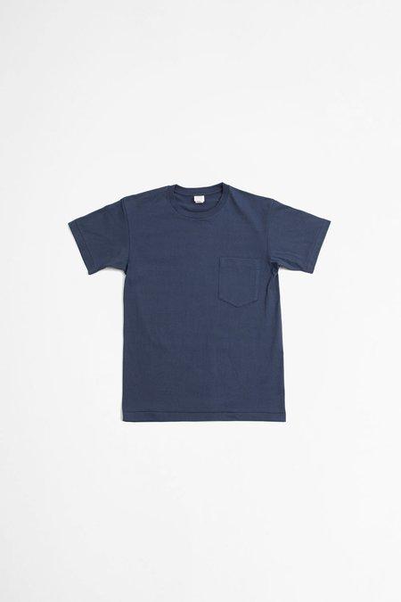 A Vontade Tube Pocket T-shirt - Slate Blue