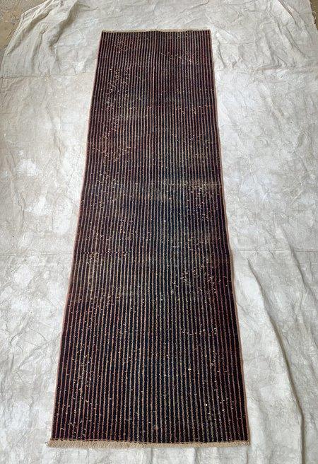 Vintage Runner - Black/Peach Stripe