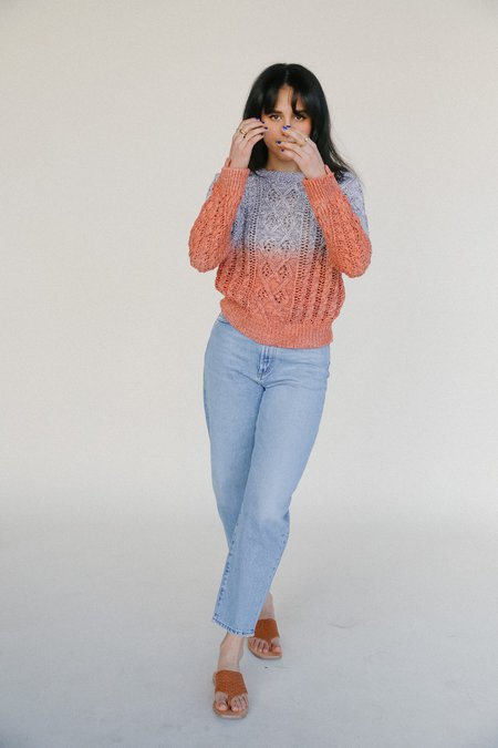 Line the Label Marin Knit Sweater - Aperol Spritz