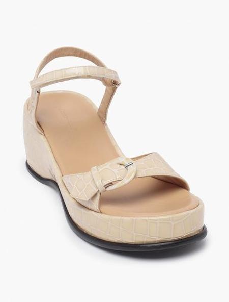 Paloma Wool Forbes Sandal - Beige Ecru