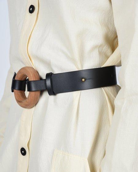 Actually Existing Circle belt - black/natural