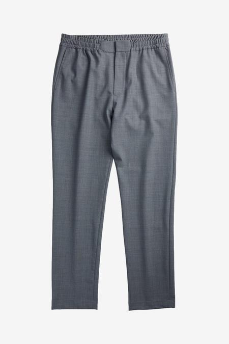 NN07 Foss 1228 trousers - Grey Melange
