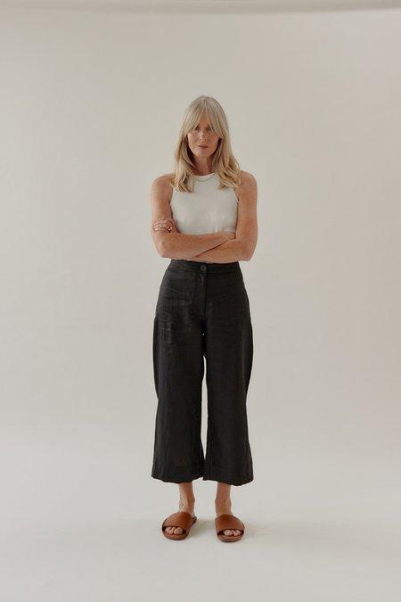 Mina Mali Cropped Pant - Black