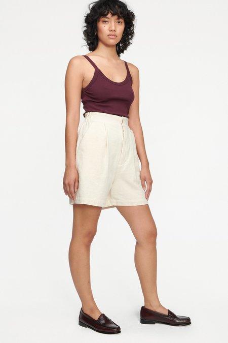 Lacausa Drew Shorts - Natural