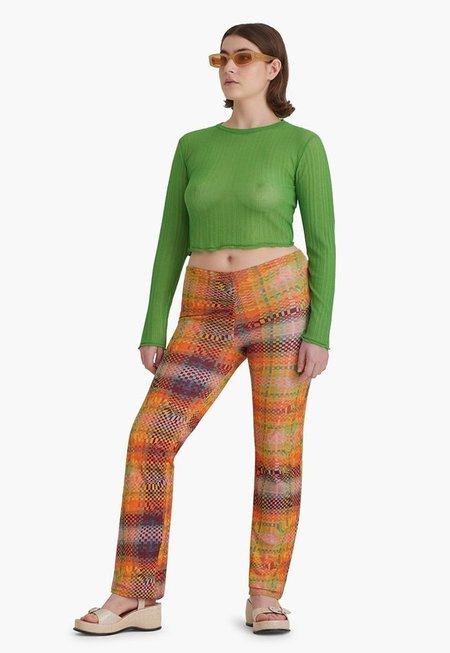 Paloma Wool Neng Knit Top - Intense Green