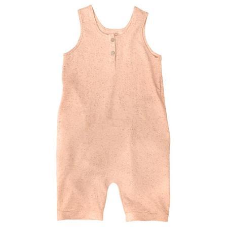 Kids Nico Nico Rhodes Heathered Romper - Love Pink