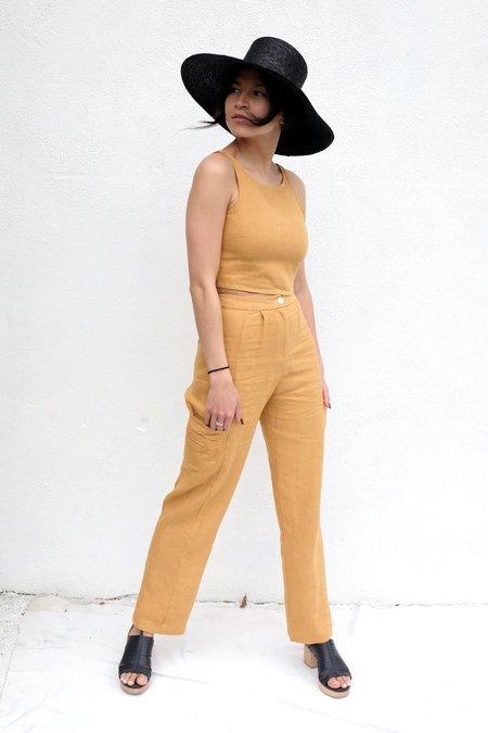 Paloma Wool Rachel Top - Light Caoba