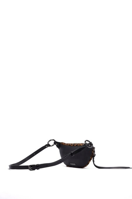 Rebecca Minkoff Bree Mini Belt Bag - Leopard