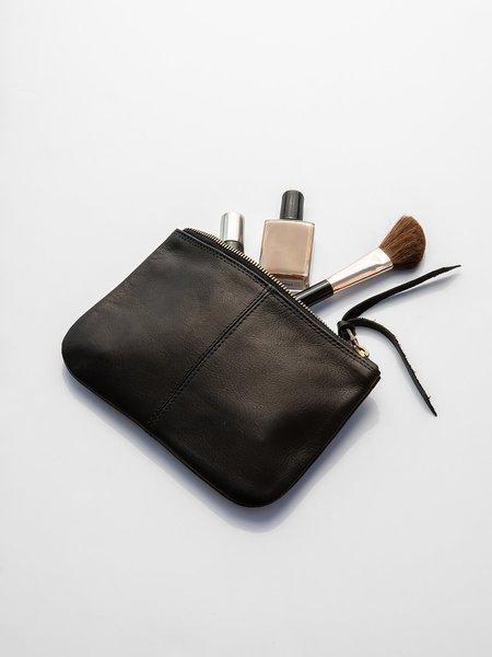 Erica Tanov leather makeup bag