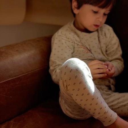 kids unisex Poudre Organic Arbousier pyjama Set - Honey Print
