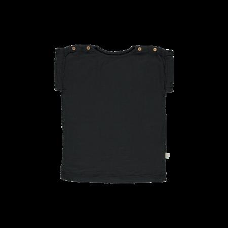 kids Poudre Organic Lin Blouse - black