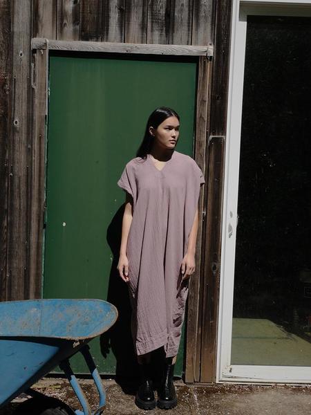 Atelier Delphine Crescent Dress - Desert Lavender