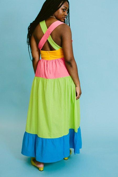Rachel Antonoff The Hannah Maxi Dress - Highlighter