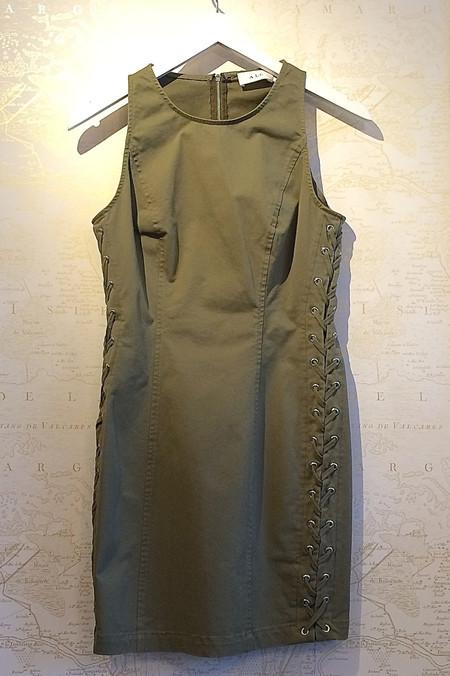 A.L.C. 'Valera' Cotton Stretch Cross Side Dress