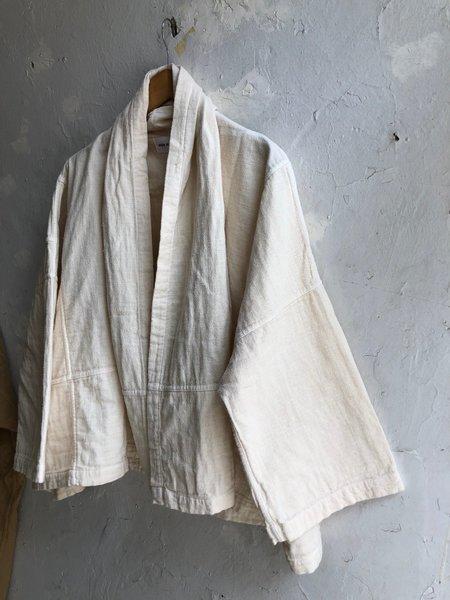 UNISEX Atelier Delphine Haori Regular Length Coat - cream