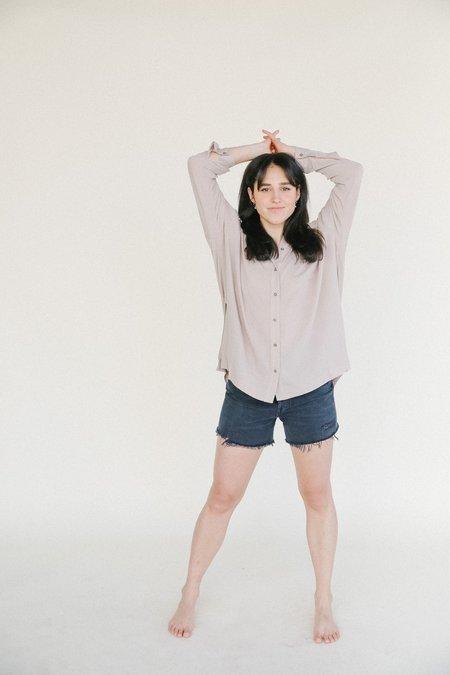 Just Female Brooklyn Shirt - cobblestone