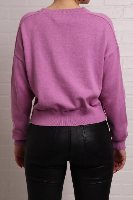 One Grey Day Swall Pullover - Orchid