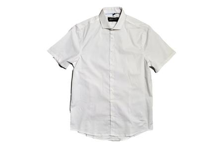 Milworks Short Sleeve Stretch Shirt - White