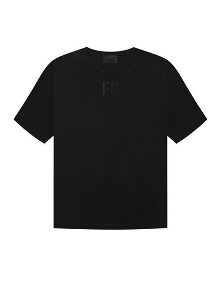 Fear of God Logo Printed T-shirt - Black