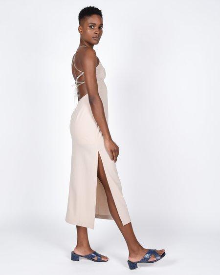 Paloma Wool Teresa Linen Dress - Stone