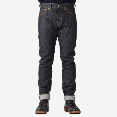 Momotaro Jeans Going to Battle Embroidery High Tapered Fit 16oz Selvedge Denim