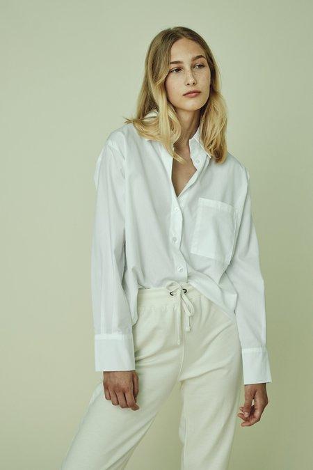 Parentezi Cropped Button Down Shirt