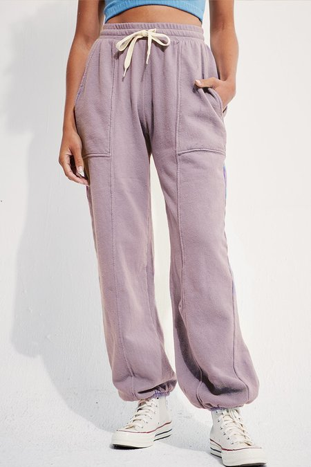 back beat rags Recycled Cotton Adventure Jogger - Mushroom