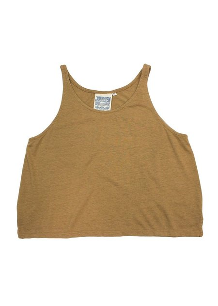 Jungmaven Cropped Tank - Coyote