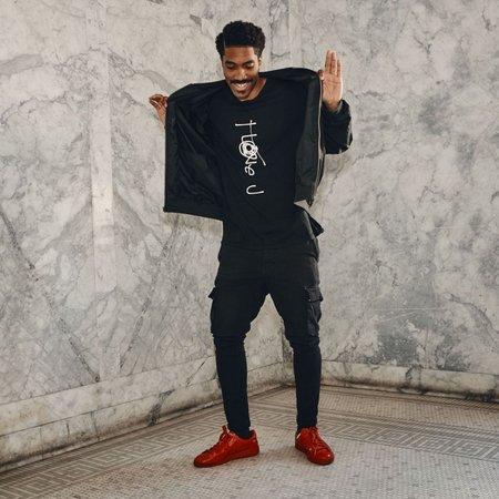 Unisex SkinsLA I Love U T-Shirt - Black
