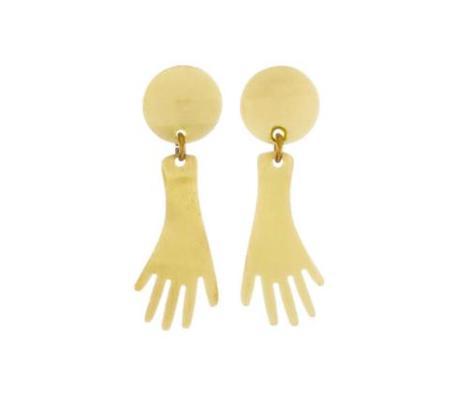 Sibilia Nice to Meet You earring - Brass