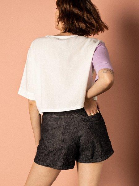Pastiche Invy Denim Shorts - black
