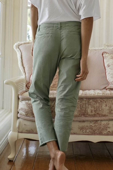 Frank and Eileen Italian Chino Wicklow Pants - Sage