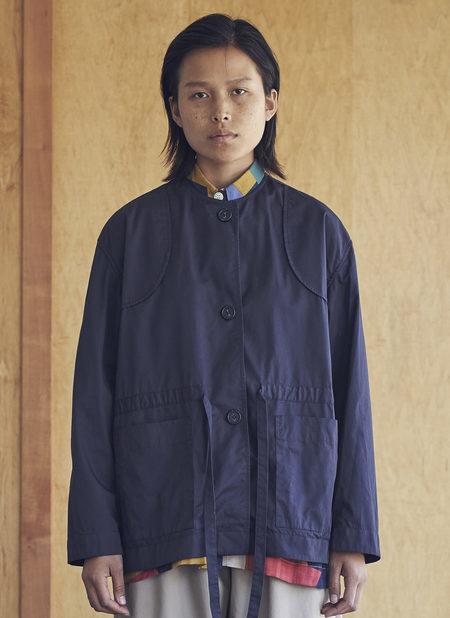 Grei. Harmony Tie Jacket - Midnight Blue