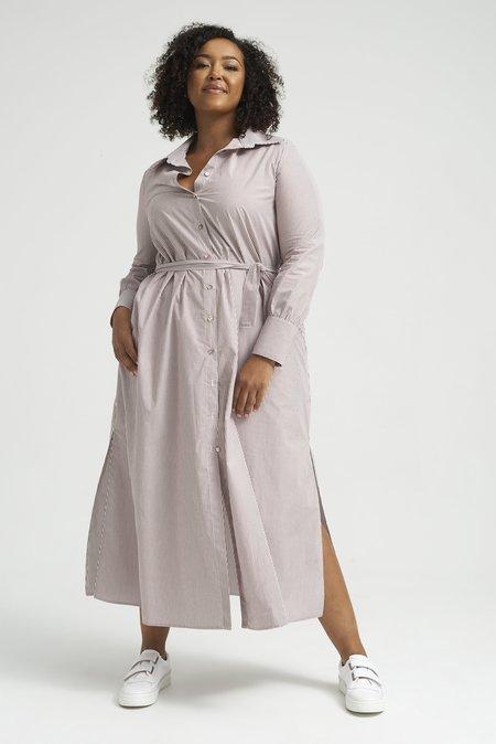 Lois Hazel Carmela Shirt Dress - Stripe