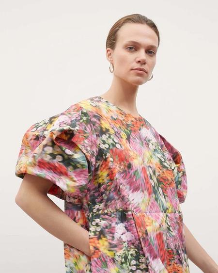 Kowtow Dusk Dress - Hazy Floral