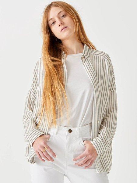 Sessun Darling Ma Stripe Shirt - Whigold
